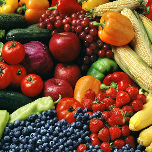Healthy Foods Fruits Veggies