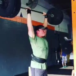 Paul Boggs Getting Stronger